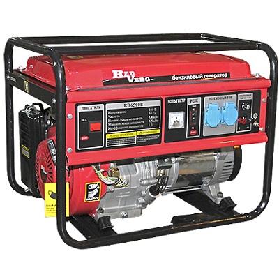 Бензиновый генератор 5кВт RD6500B RedVerg